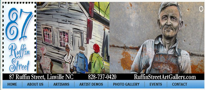 87 Ruffin Street Gallery; Linville, NC