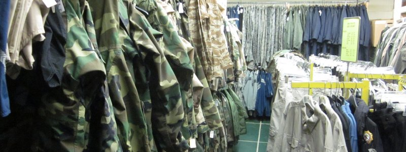 Image result for Army Surplus Goods