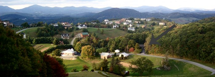 A countryside scene from our neighbors in Watauga County, NC