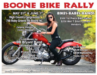 Boone Bike Rally 2013