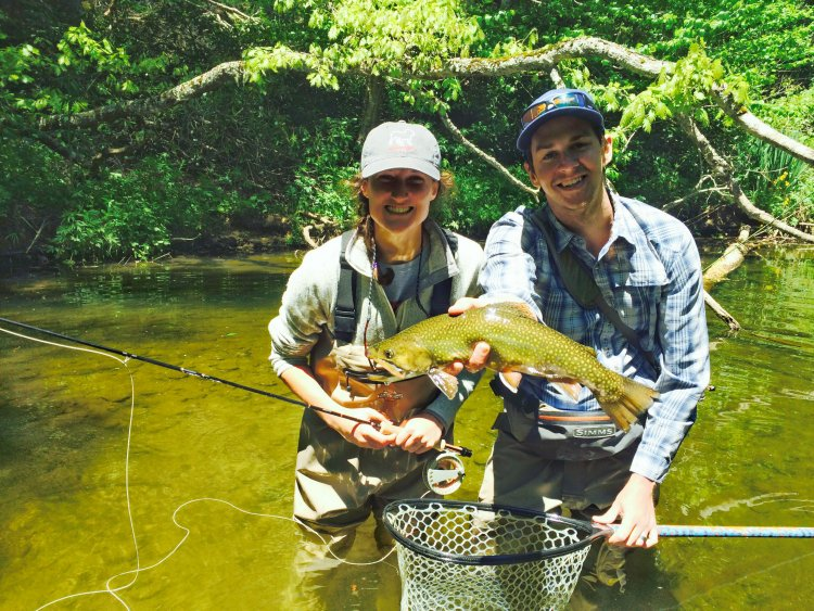 Highland outfitters trout fishing guides guided fishing for Fishing in boone nc